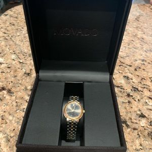 Movado Two-Tone Stainless Steel Watch
